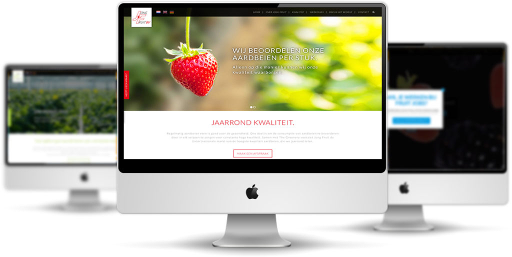 Jongfruit website design The Sequel