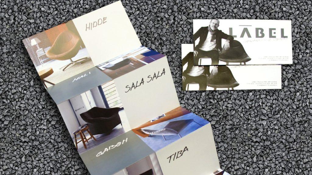 Label Promotie material portfolio