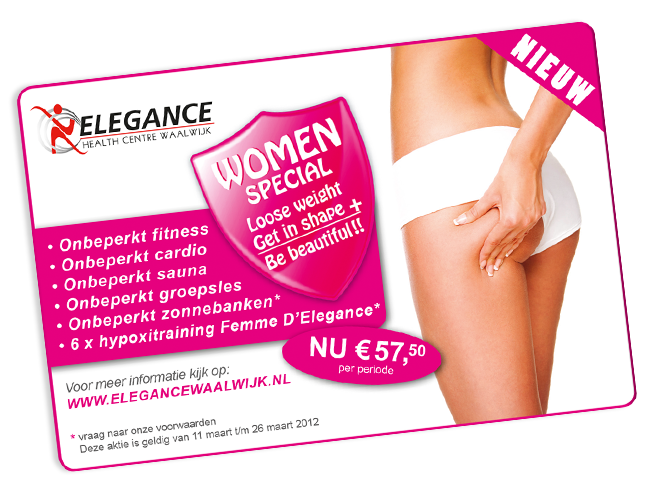 advertentie ontwerp Elegance Health Care