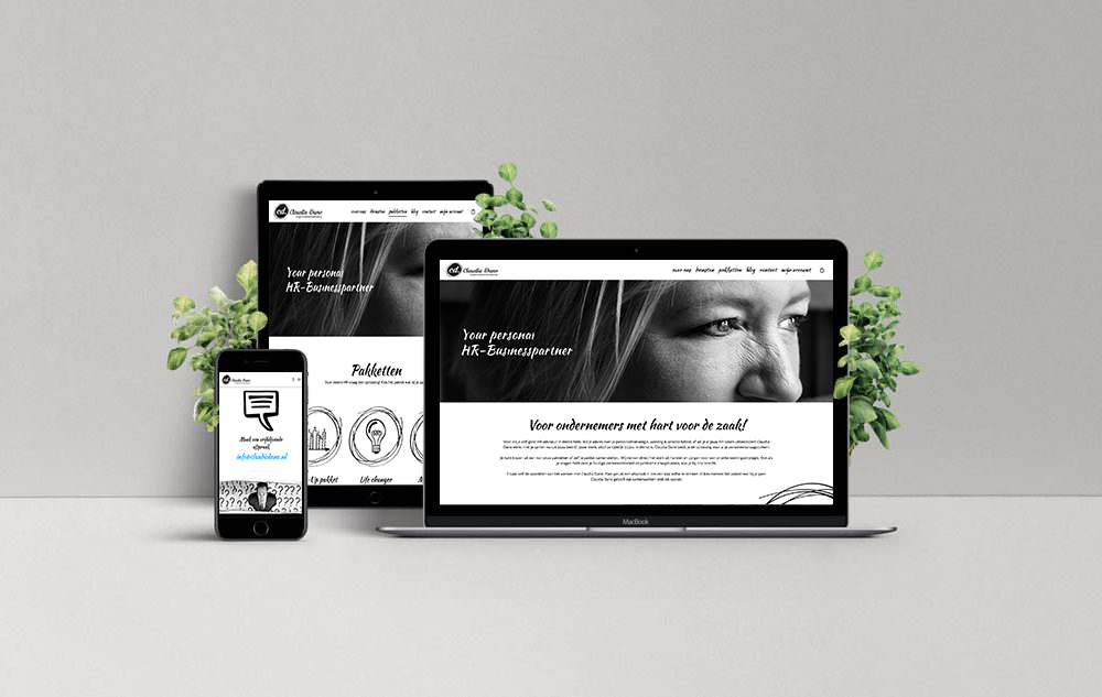 Claudiadane Website By The sequel - Website development Agency in Tilburg & Breda