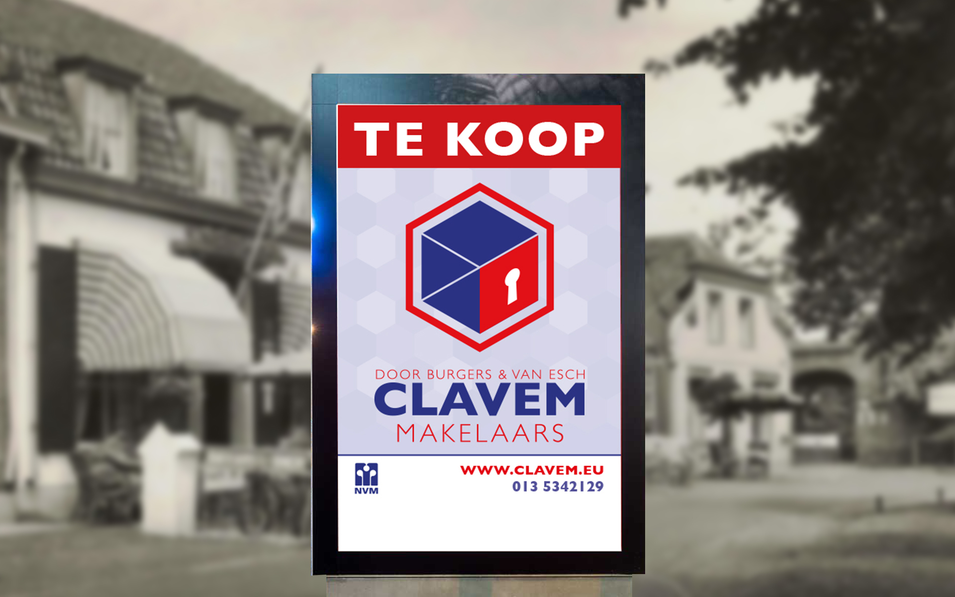 Posters Clavem Makelaars-Te Koop By The Sequel