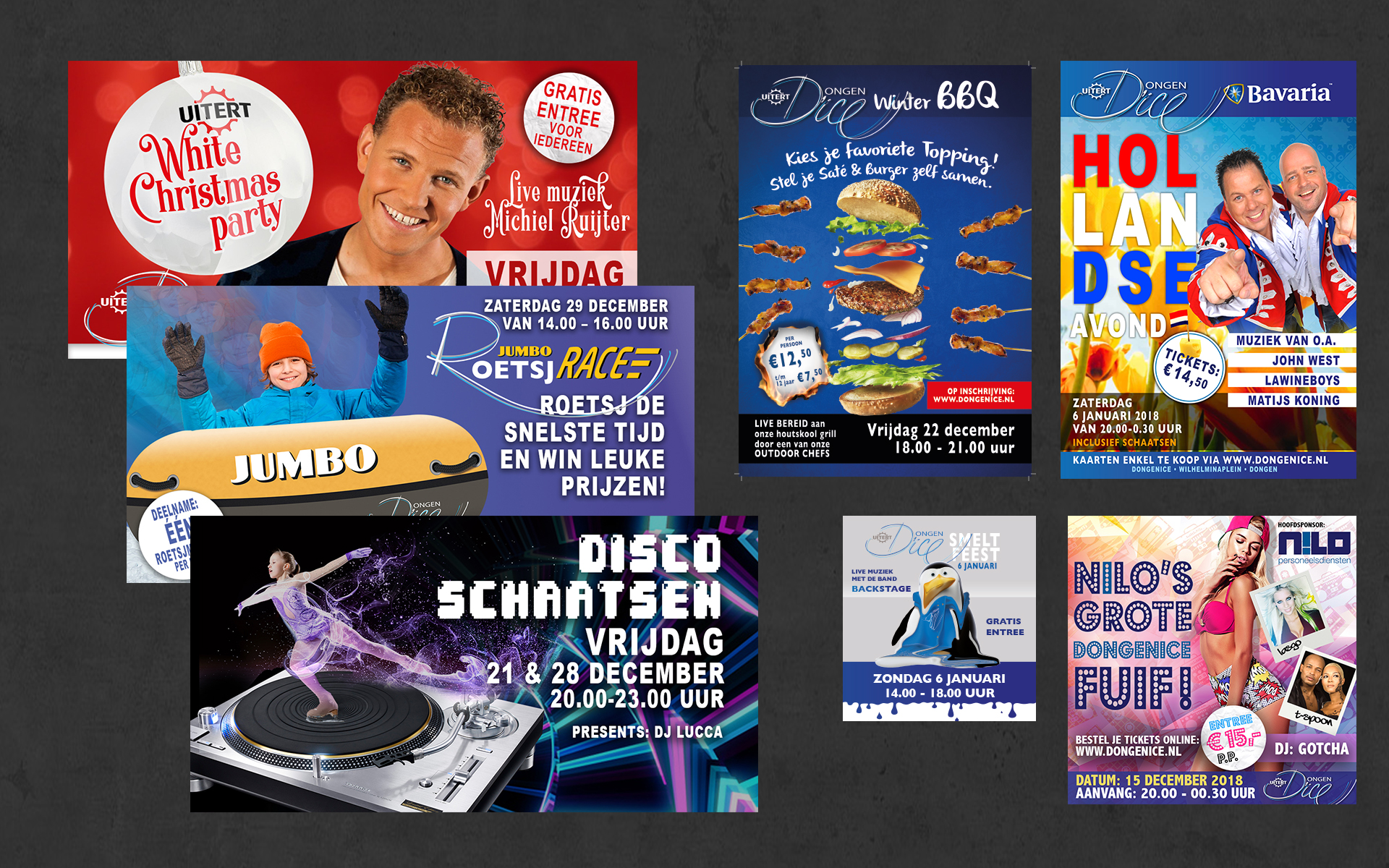 dongenice_feest_posters_flyers_Door_The_Sequel